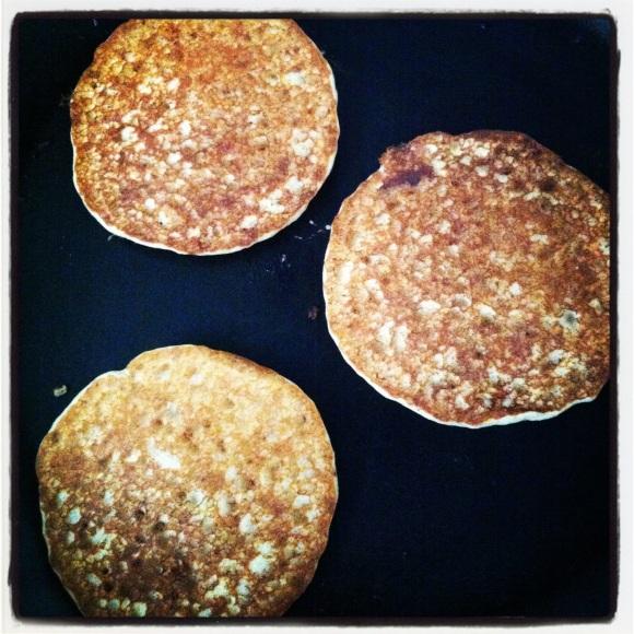 Sugar Free Yoghurt Pancakes