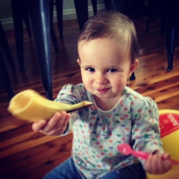 Rafaela is Bananas... B-A-N-A-N-A-S!